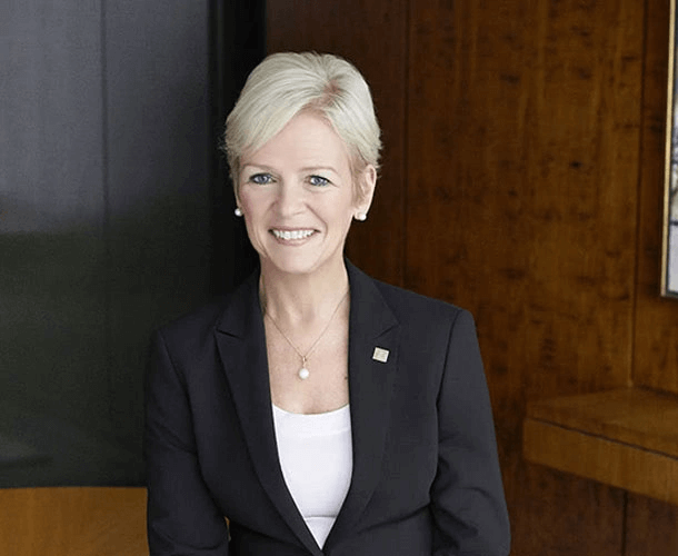 Colleen Johnston, the former CFO of TD Bank Group